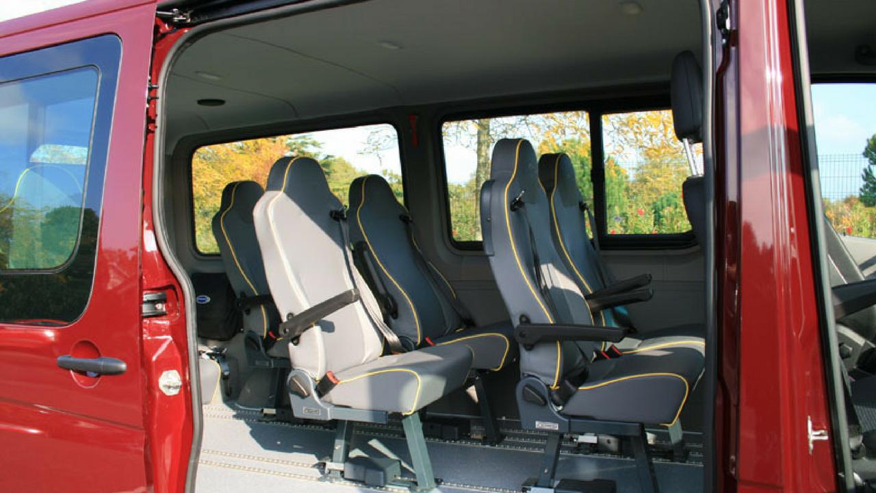 Espace intérieur passagers